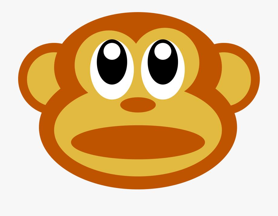 Monkey Face Clipart.