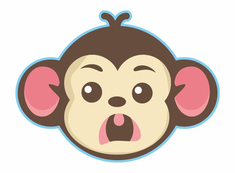 Cute Little Monkey Face.
