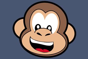 Cartoon Monkey Face.