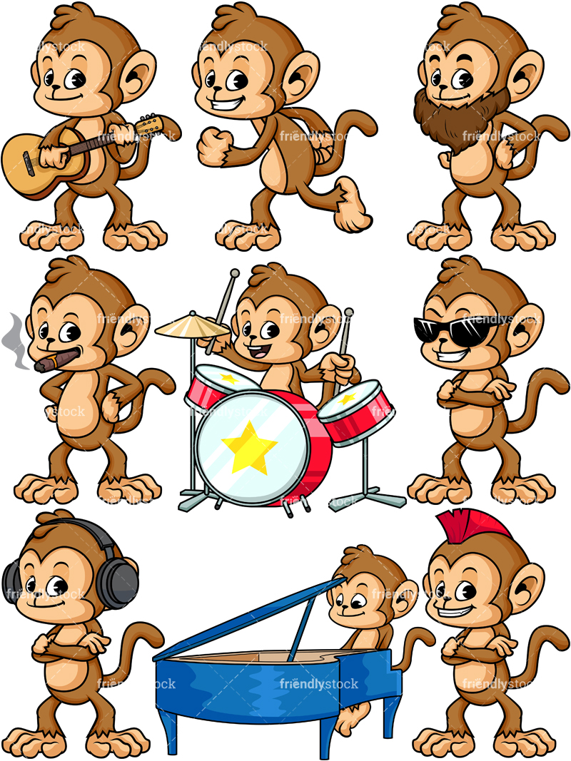 Monkey Character Collection #3.