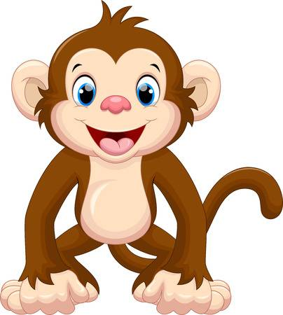 Cartoon Monkey Stock Photos And Images.