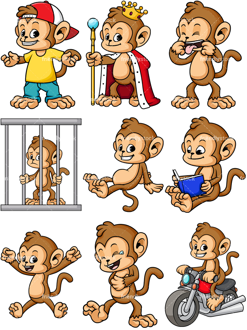 Monkey Character Collection #2.