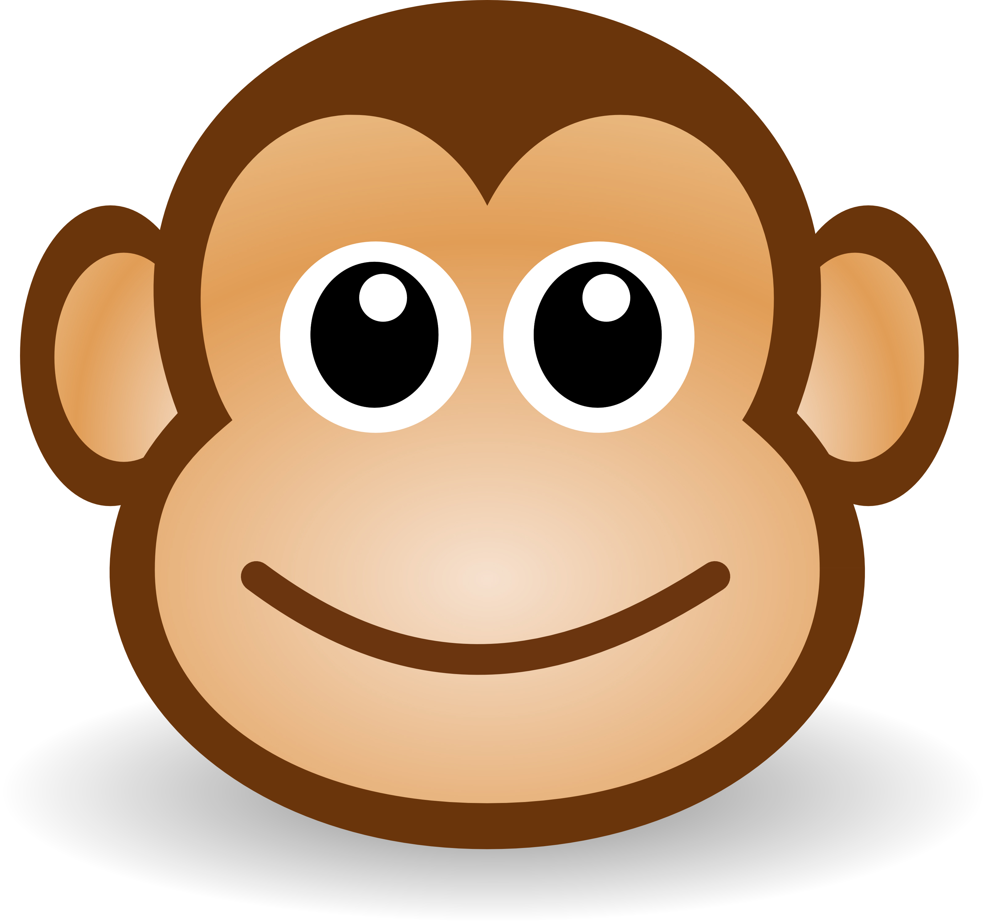 Cartoon Clipart Monkey.