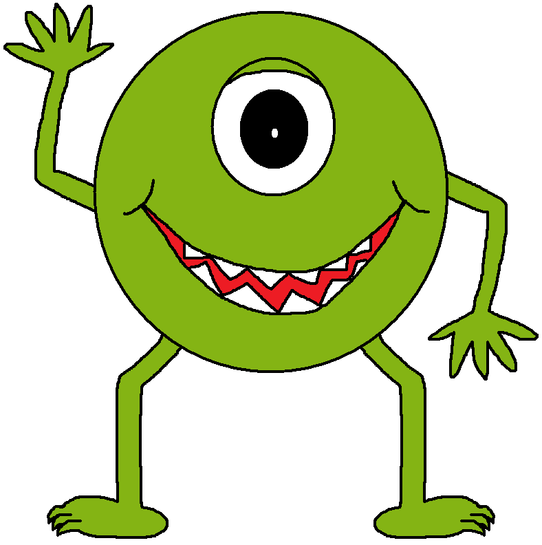 Monster clip art cartoon free clipart images.