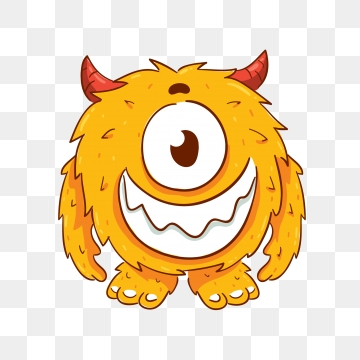 Cartoon Monster PNG Images.