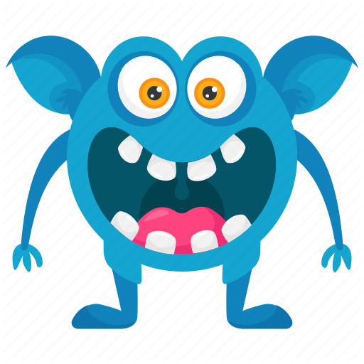 'Cute Funny Monster Characters' by Vectors Market.