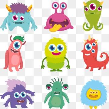 Monster Png, Vector, PSD, and Clipart With Transparent Background.