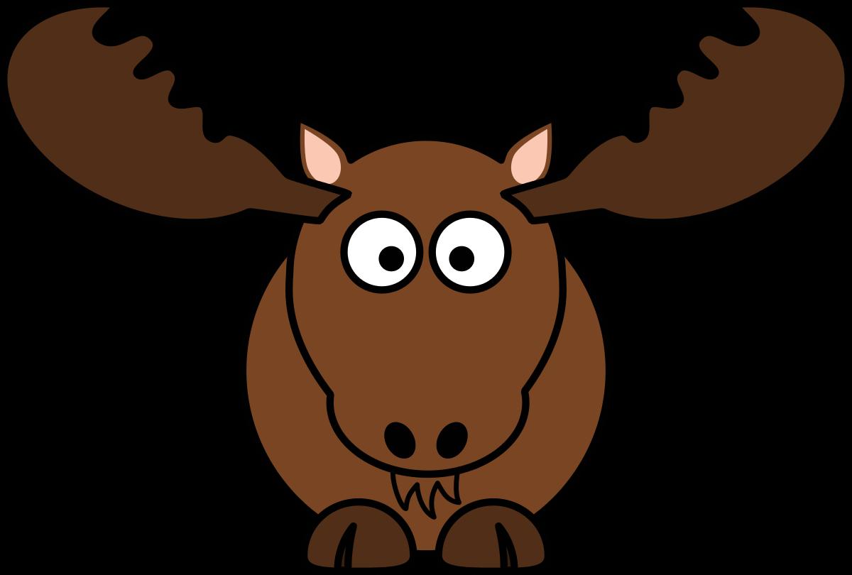 Cartoon moose clipart by studiofibonacci cartoon cliparts 9.