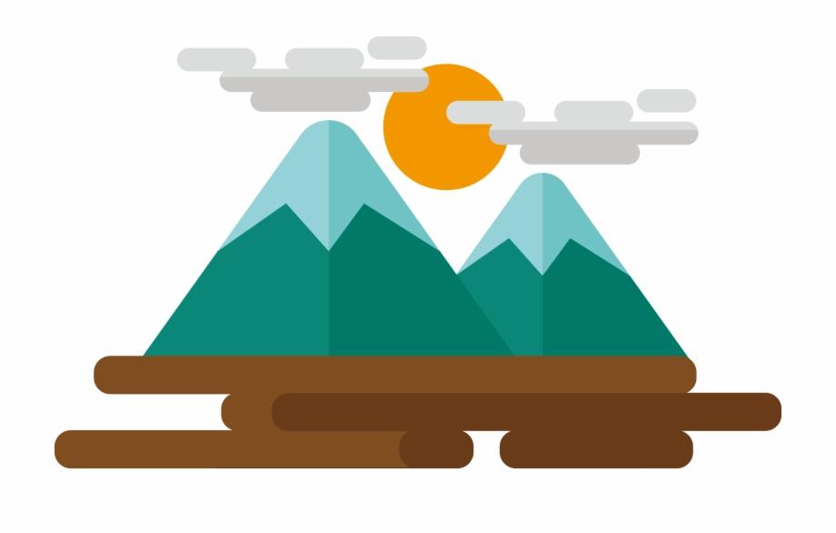 Cartoon Mountains Png.