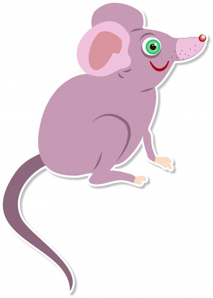 Cartoon Mouse Clipart Free Stock Photo.