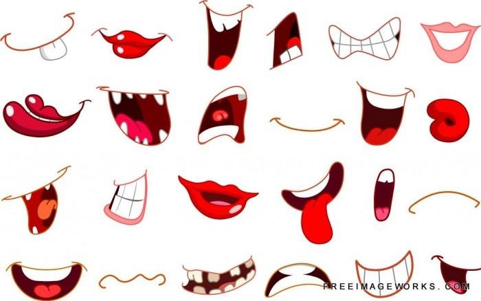 Mouth Cartoon.