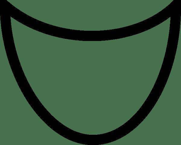 Cartoon Mouth Open transparent PNG.