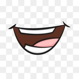 Mouth Cartoon Vector Design, Laughing Ou #37039.