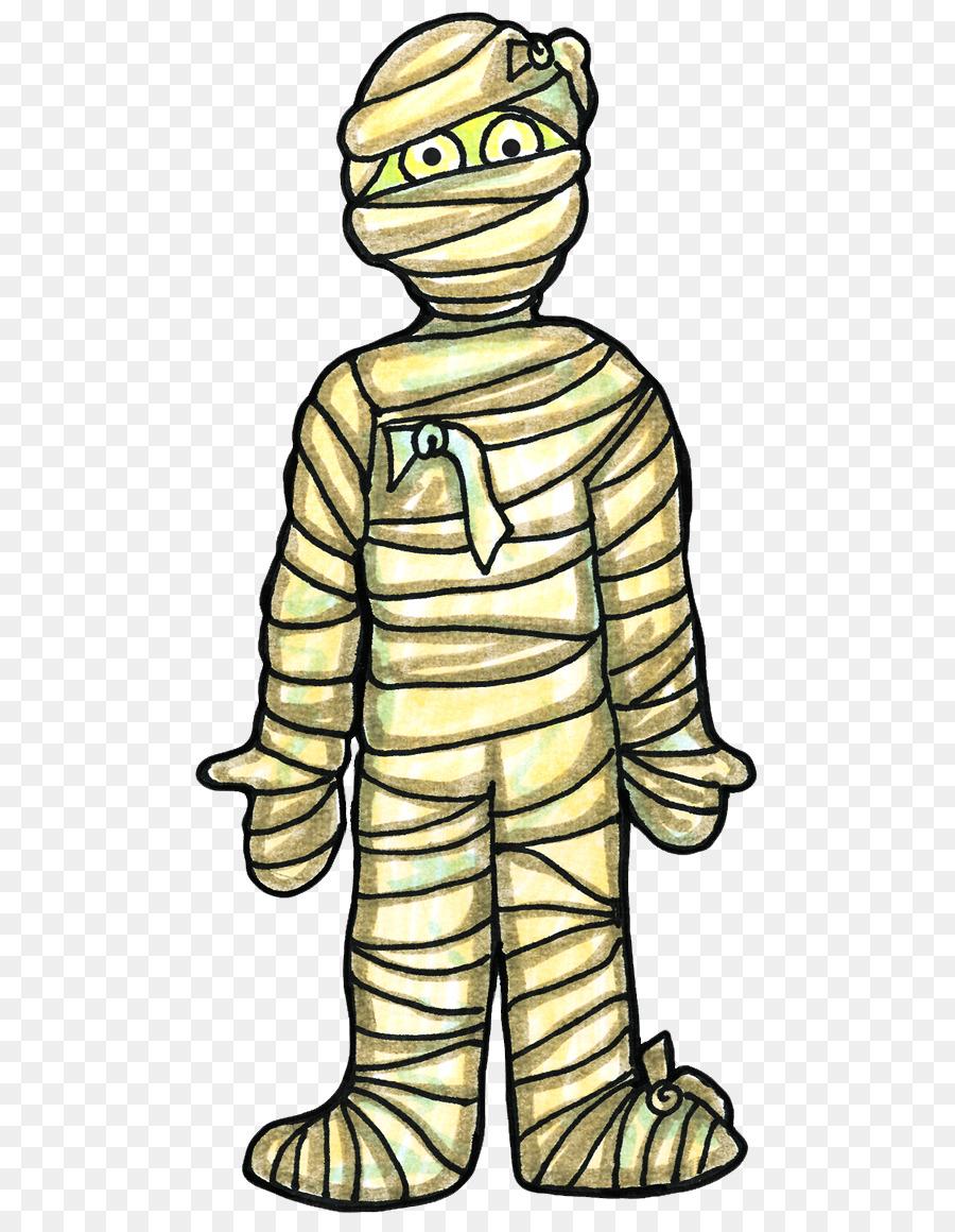 1490 Mummy free clipart.
