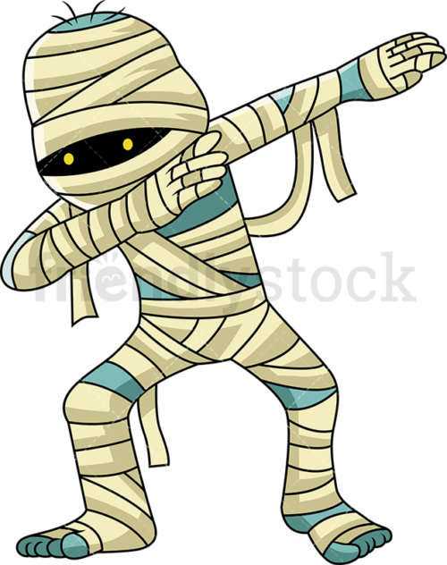 A Dabbing Egyptian Mummy.