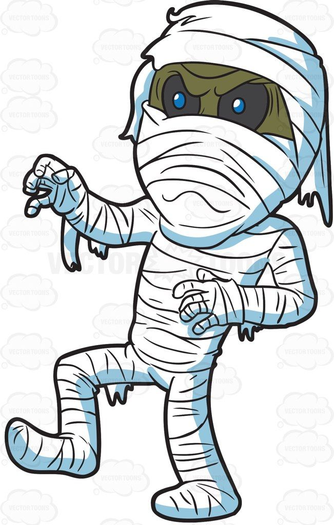 An Angry Mummy in 2019.