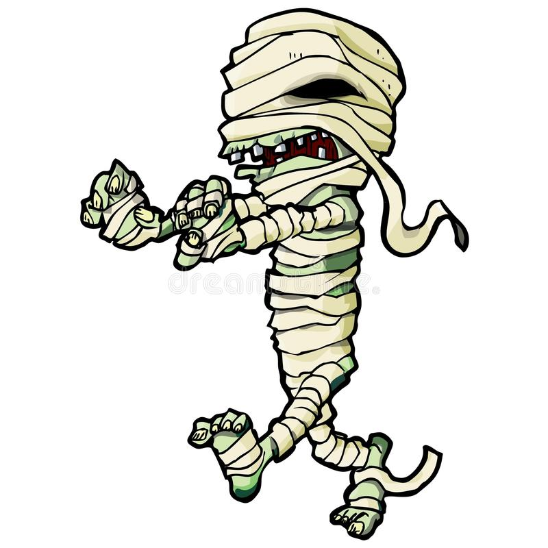 Cartoon Mummy Stock Illustrations.