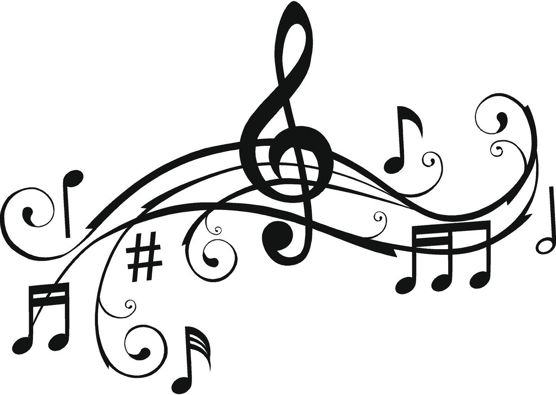 Cartoon Music Notes Clipart.