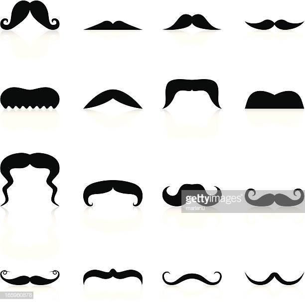 60 Top Handlebar Mustache Stock Illustrations, Clip art, Cartoons.
