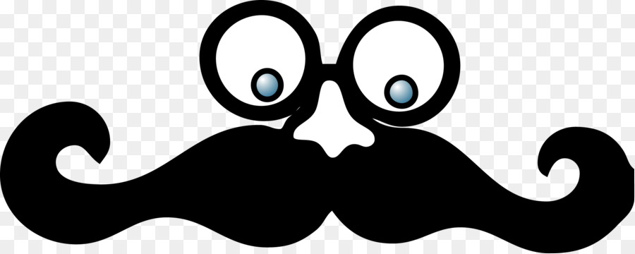 Moustache Cartoon clipart.
