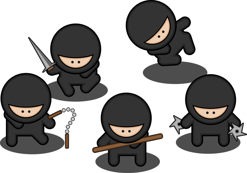 Ninja Cartoon.