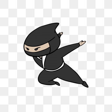 Ninja Cartoon PNG Images.