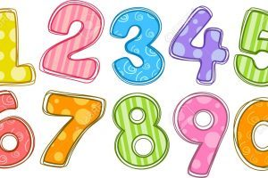 Cartoon numbers clipart free 5 » Clipart Portal.
