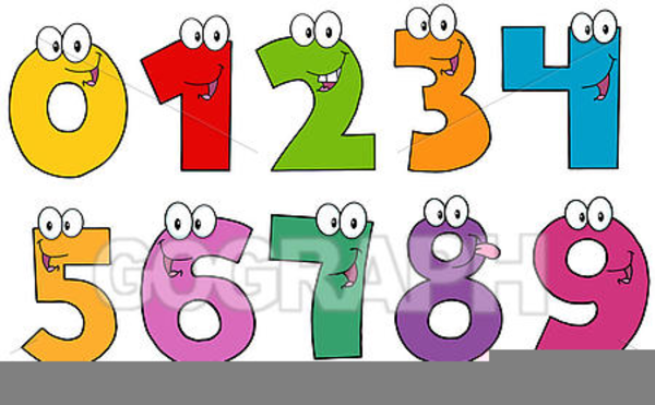 Free Animated Number Clipart.