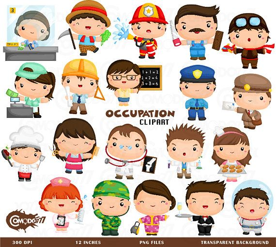 Job Occupation Clipart, Job Occupation Clip Art, Job Occupation Png.