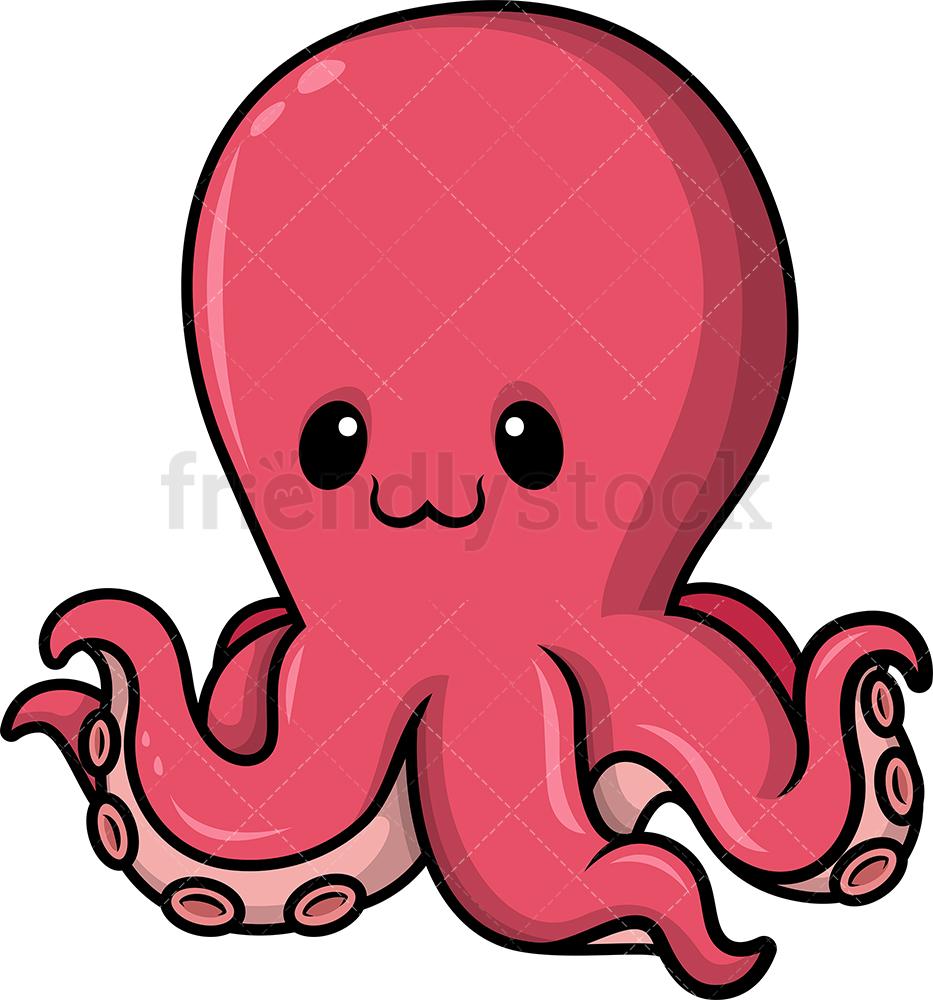 Chibi Kawaii Octopus.