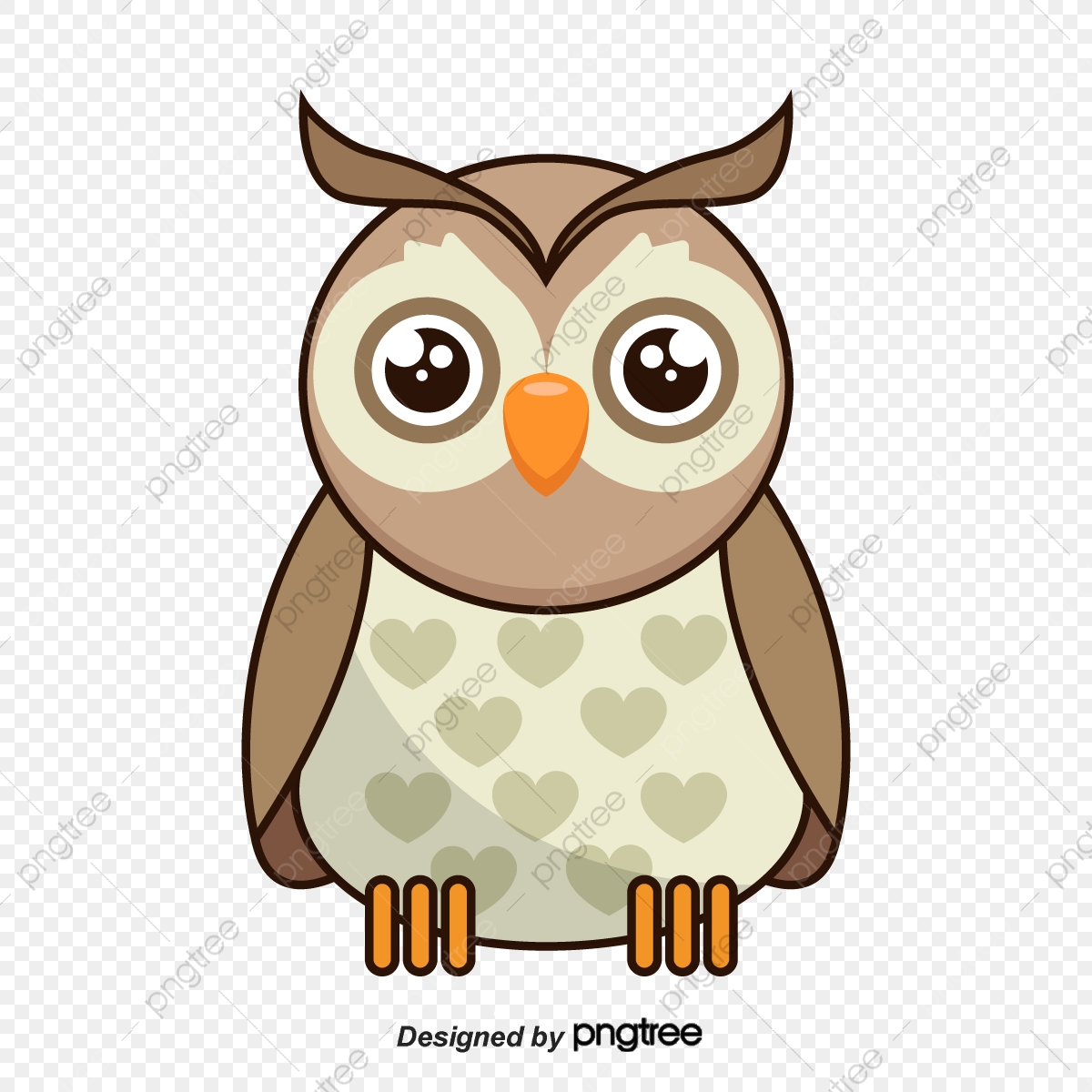 Cartoon Owl Clipart, Owl Vector, Cartoon Vector PNG and Vector with.