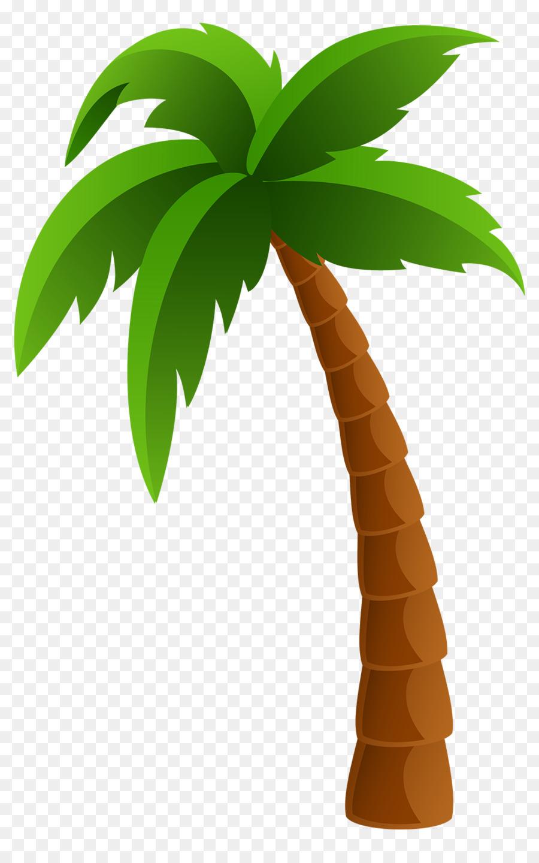 Coconut Tree Cartoon clipart.