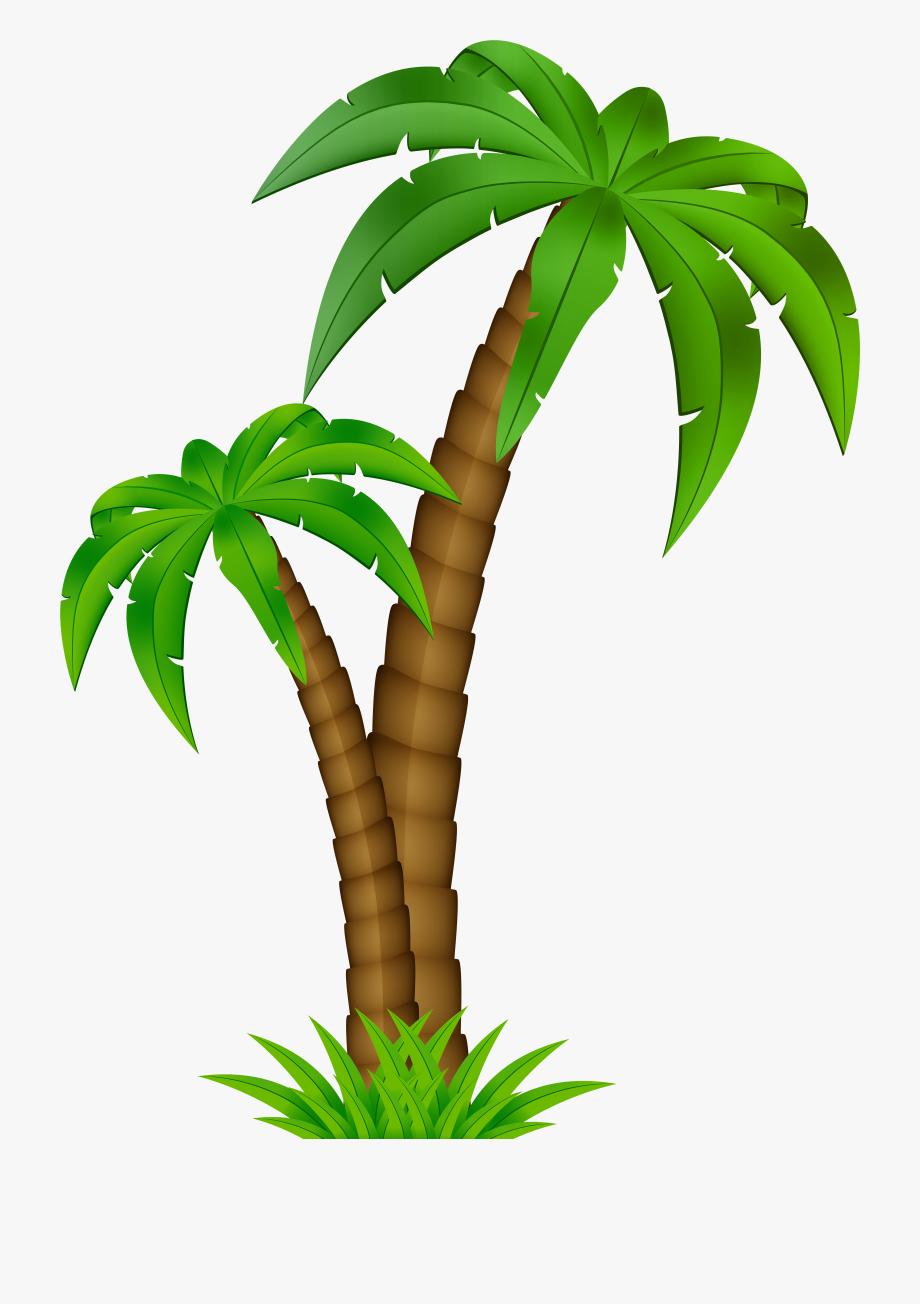 Palm Clip Art Image.
