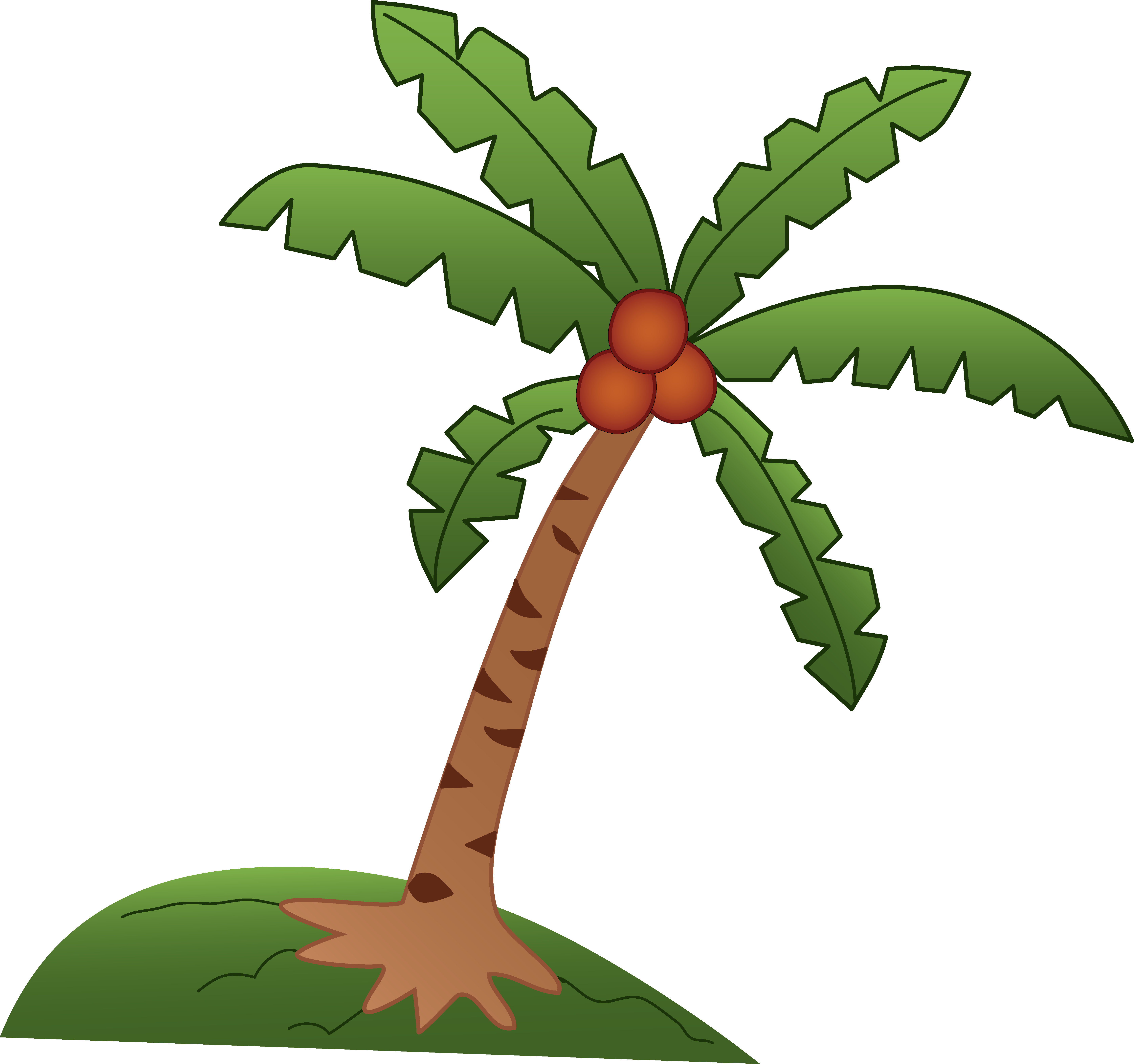 Free Animated Coconut Tree, Download Free Clip Art, Free.