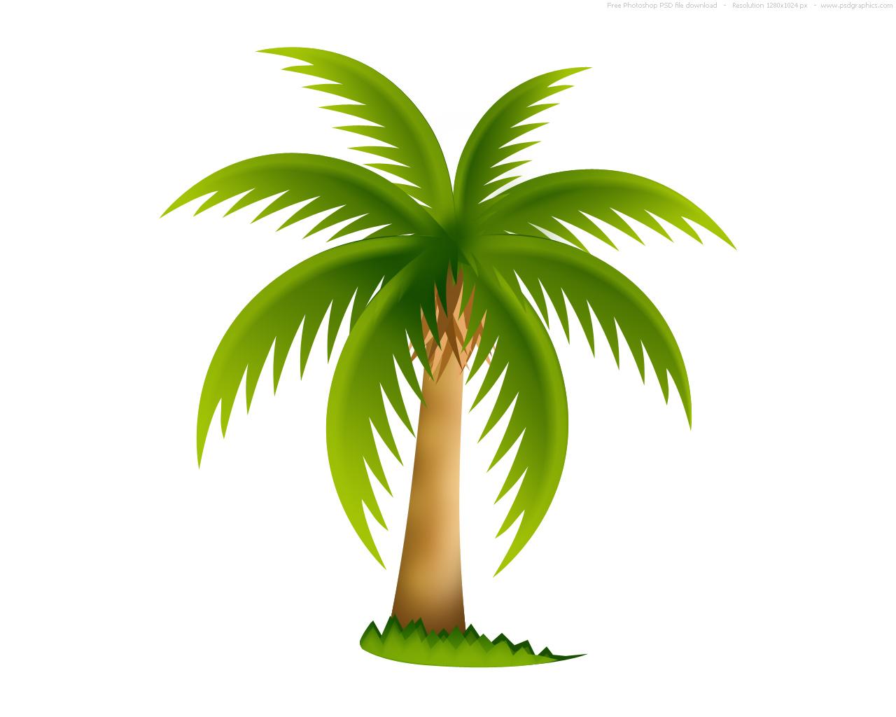Free Transparent Cartoon Palm Tree, Download Free Clip Art.
