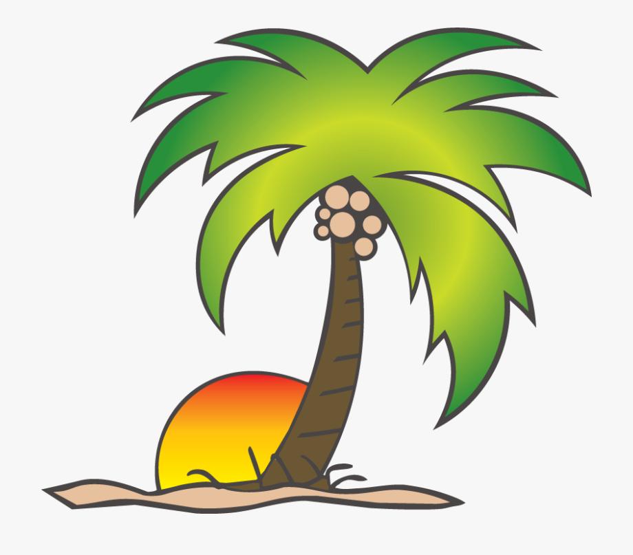 Cartoon Coconut Tree Png.