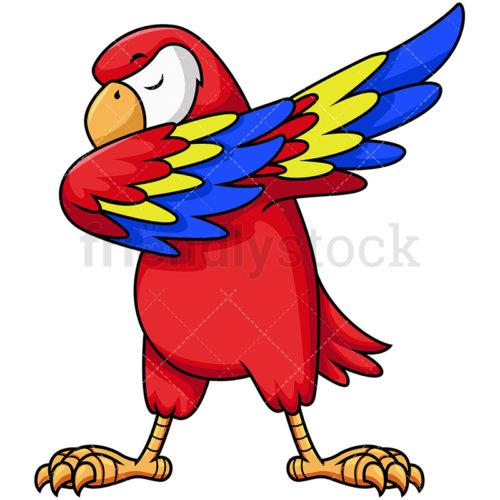 Dabbing Parrot.