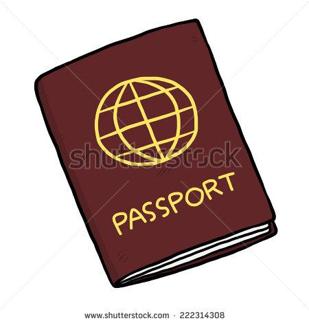 Showing post & media for Cartoon passport clip art.