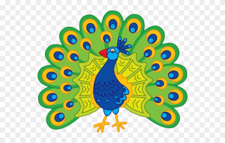 Peacock Clipart Art Competition.