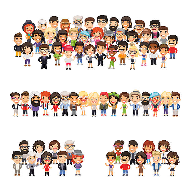 Best Cartoon People Illustrations, Royalty.