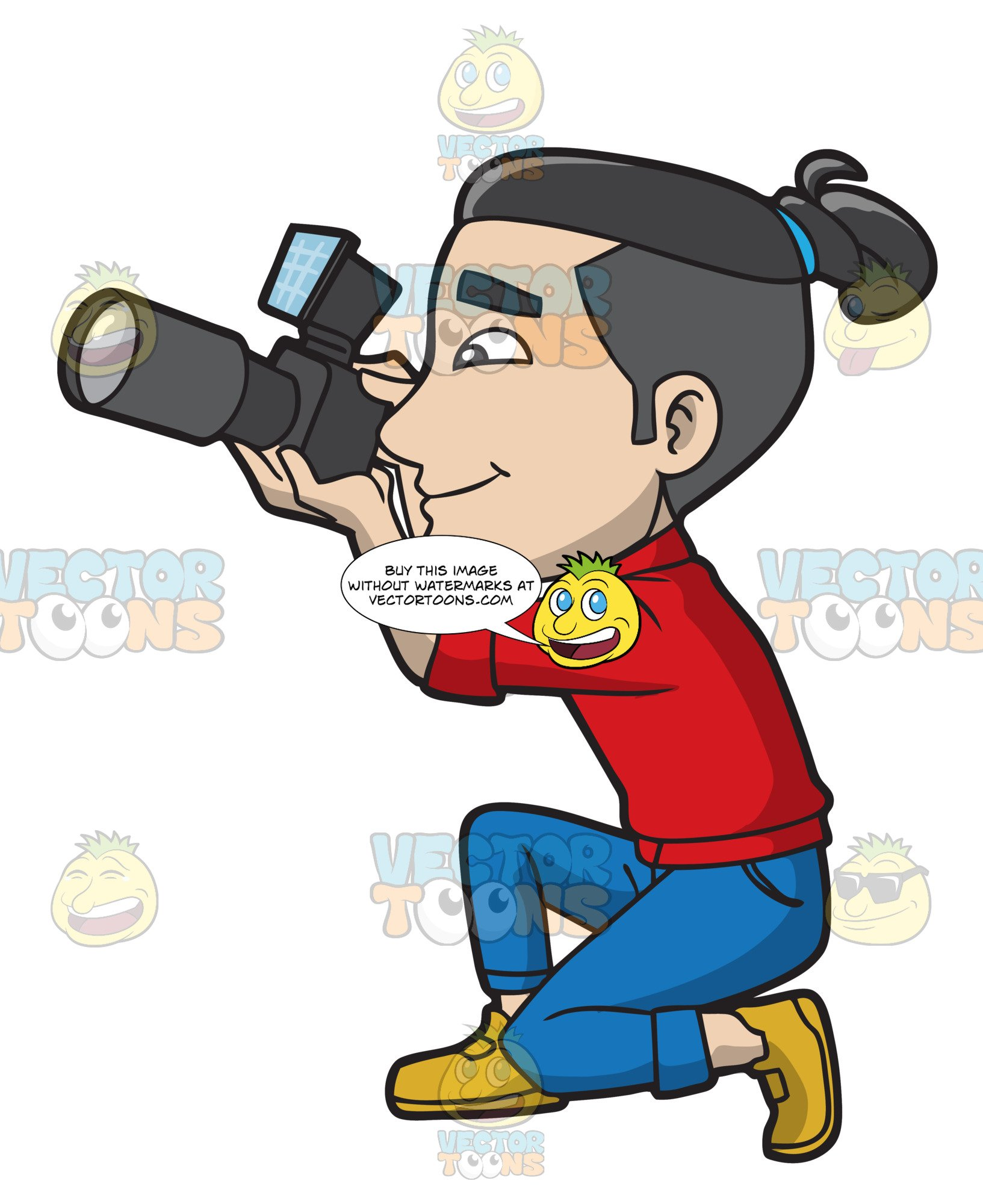 A Professional Male Photographer.