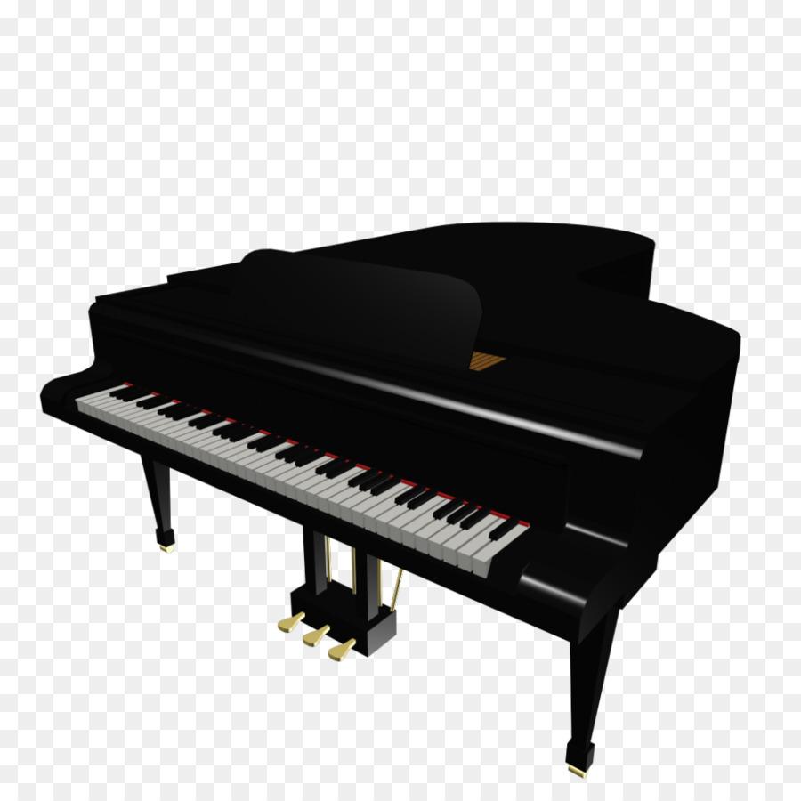 Piano Cartoon clipart.