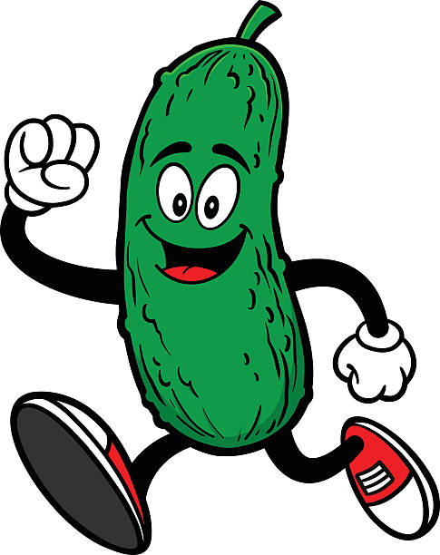 Best Dill Pickle Illustrations, Royalty.