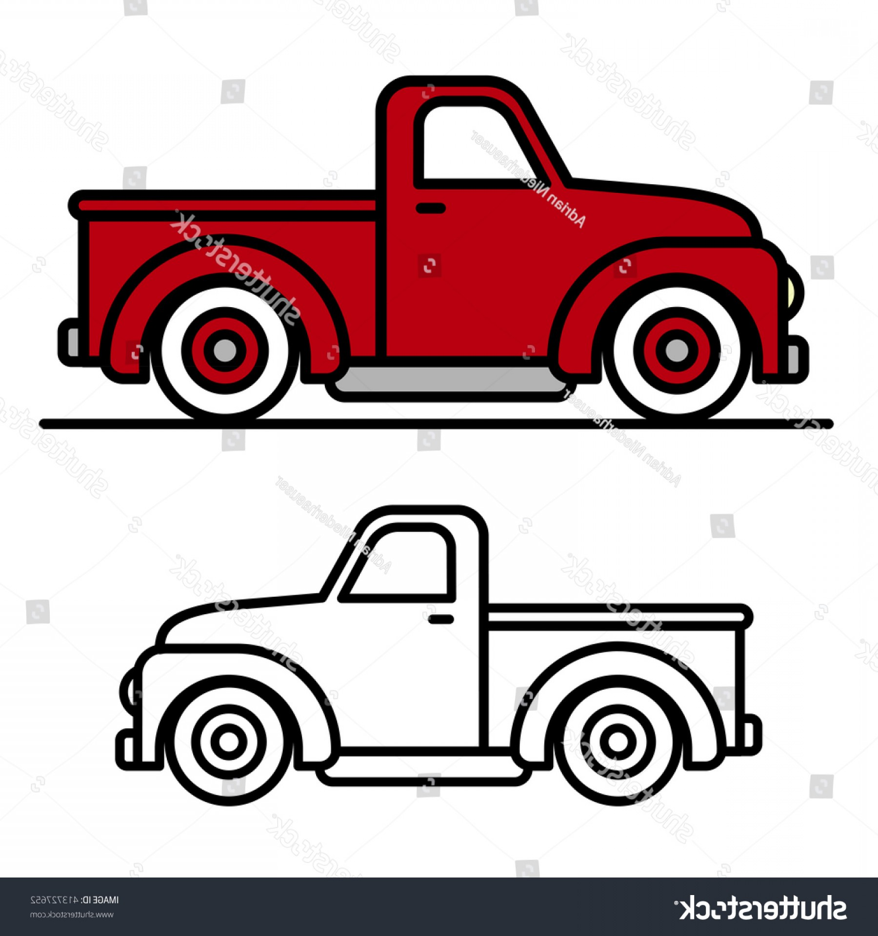 Hand Picked Tips Cartoon Pickup Trucks Top Cartoon Pickup.
