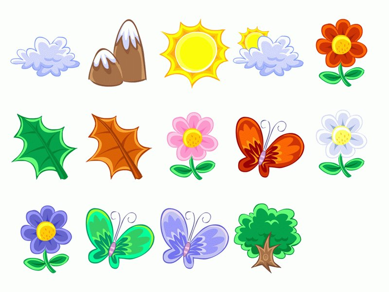 cartoon pictures flowers butterflies clipground