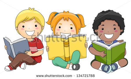 Cartoon Kids Stock Images, Royalty.