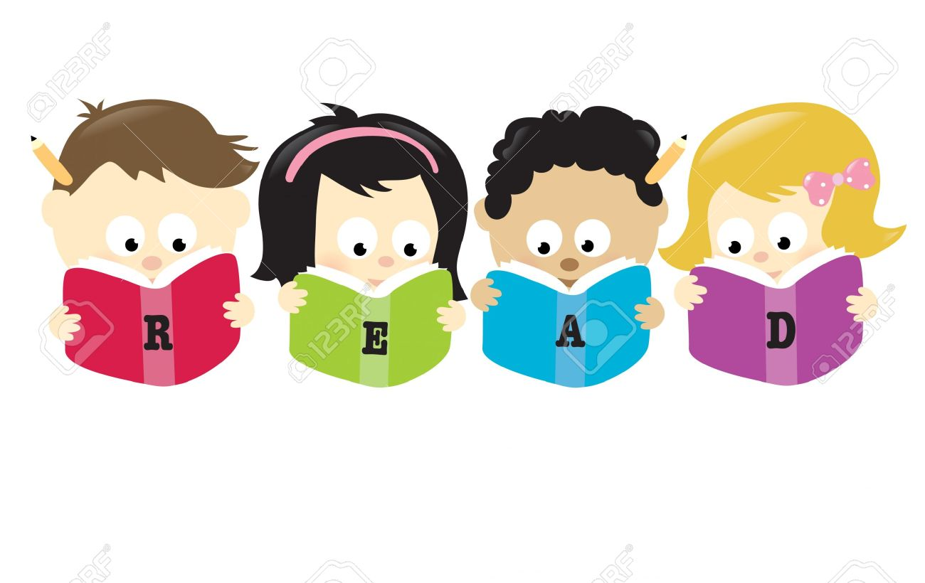Showing post & media for Kids reading cartoon.