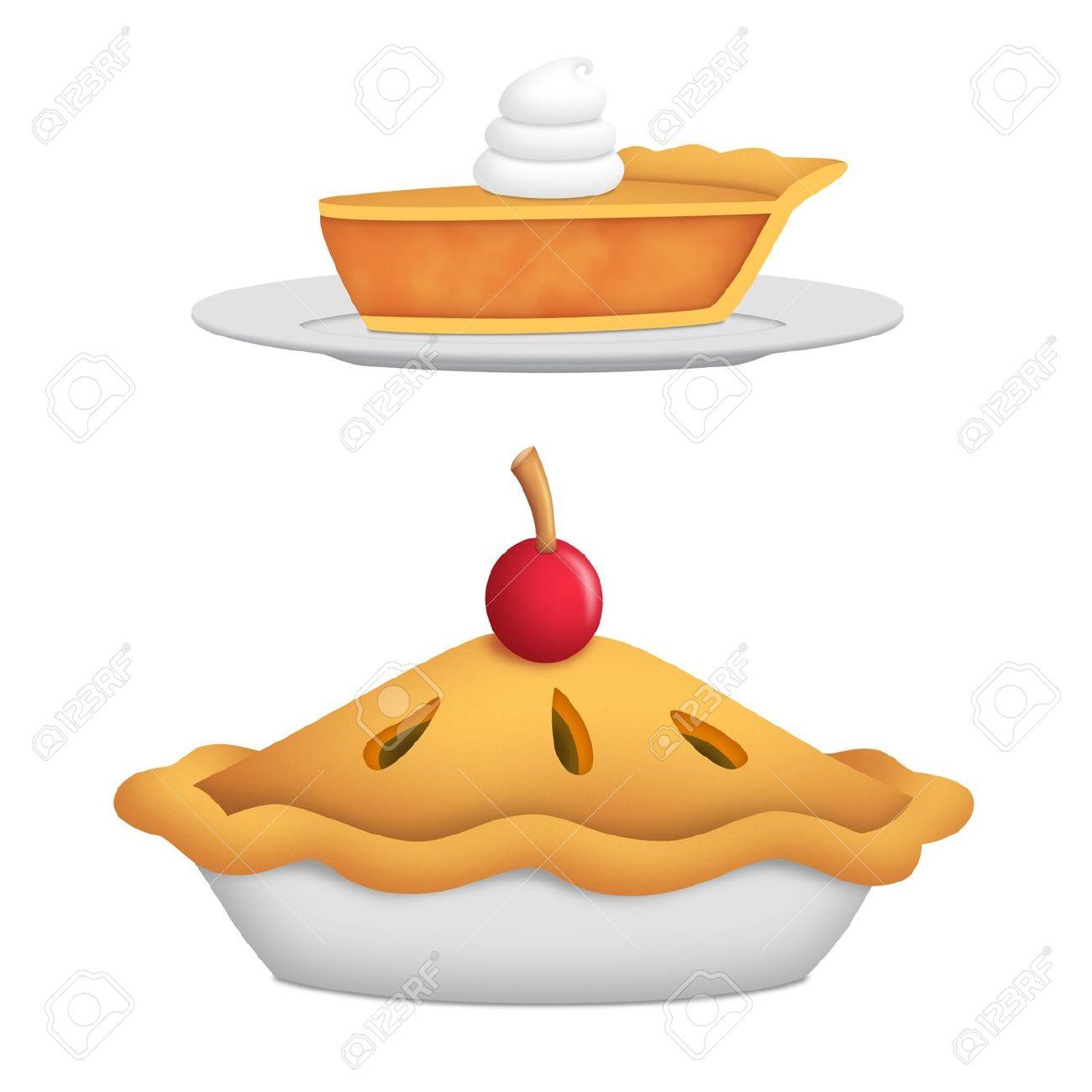 Whole Pie Clipart.
