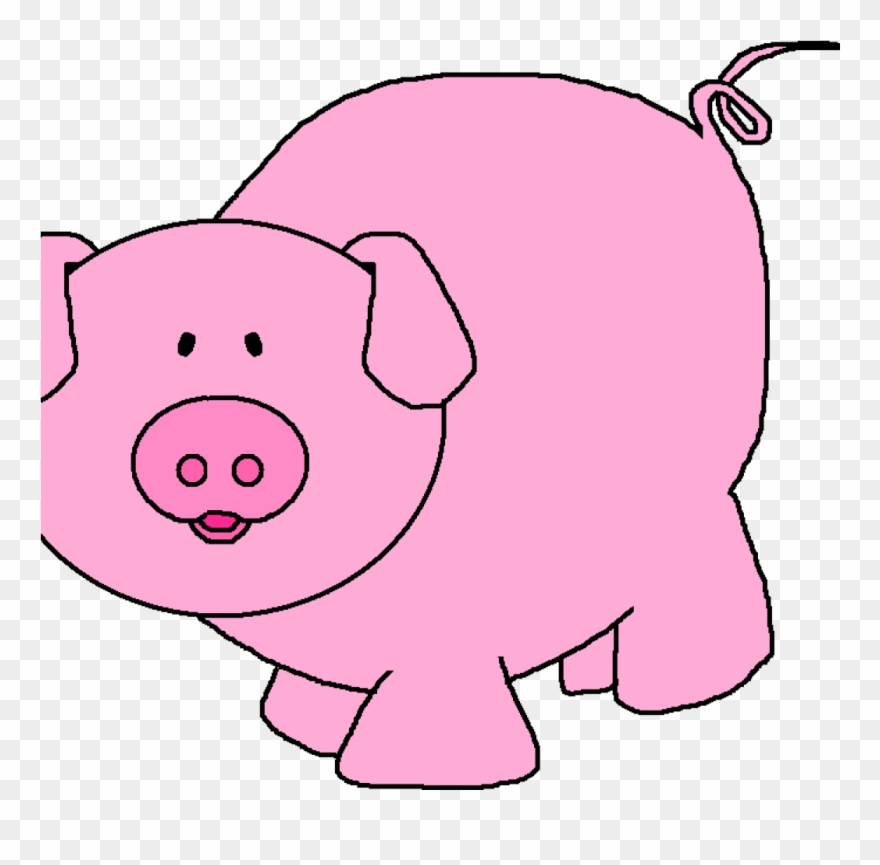 Pink Pig Clipart Pink Pig Clipart Pigs Cartoon Pig.