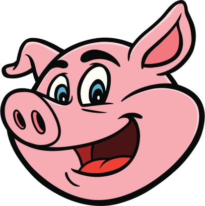 Pig Face Cartoon Clipart Abs For Worksheets Farmers Png.